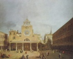 Canaletto - paintings - San Giacomo di Rialto