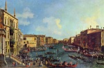 Canaletto - paintings - Regetta on the Grand Canal