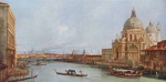 Canaletto - paintings - Santa Maria della Salute