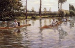 Gustave Caillebotte - Bilder Gemälde - Boating on the Yerres