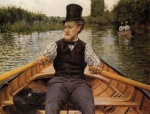 Gustave Caillebotte - Bilder Gemälde - Boating Party
