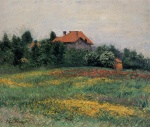Gustave Caillebotte - Peintures - Paysage normand
