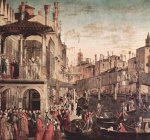 Vittore Carpaccio - paintings - The Healing of the Madman