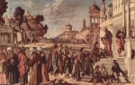 Vittore Carpaccio - paintings - St. Stephen is Consecrated Deacon