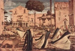 Vittore Carpaccio - paintings - St. Jerom and the Lion