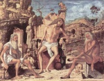 Vittore Carpaccio - paintings - The Meditation on the Passion