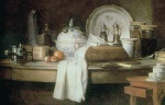 Jean Simeon Chardin - paintings - The Butlers Table
