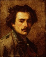 Thomas Couture - Bilder Gemälde - Portrait of the Artist