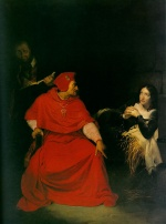 Paul Delaroche - Bilder Gemälde - Joan of Arc in Prison