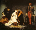 Paul Delaroche - Peintures - L'exécution de Lady Jane Grey