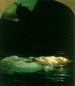Paul Delaroche - paintings - Young Christian Martyr