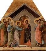 Duccio di Buoninsegna - paintings - Der unglaeubige Thoma
