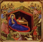 Duccio di Buoninsegna - paintings - Geburt Christi