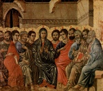 Duccio di Buoninsegna - paintings - Pfingsten