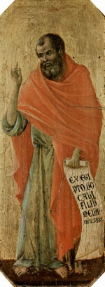 Duccio di Buoninsegna - paintings - Prophet Hosea