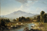 Asher Brown Durand - Bilder Gemälde - High Point (Shandaken Mountains)