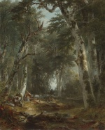 Asher Brown Durand - Bilder Gemälde - In the Woods