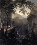 Asher Brown Durand - Bilder Gemälde - Kindred Spirits