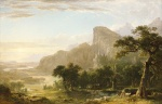 Asher Brown Durand - Bilder Gemälde - Landscape Scene from Thanatopsis