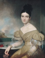 Asher Brown Durand - Bilder Gemälde - Mrs. Winfield Scott