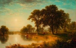 Asher Brown Durand - Bilder Gemälde - Summer Afternoon