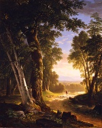 Asher Brown Durand - Bilder Gemälde - The Beeches