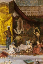 Fabio Fabbi - paintings - A Musical Interlude in the Harem