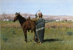 Henry Farny - paintings - Chief Spotted Tail