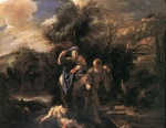 Domenico Fetti - paintings - Flight to Egypt
