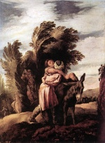 Domenico Fetti - paintings - Parable of the Good Samaritan