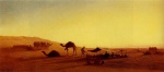 Charles Theodore Frere - paintings - An Arab Encampment