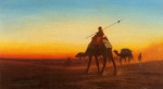 Charles Theodore Frere - paintings - Caravanne au Couche Sol