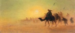 Charles Theodore Frere - paintings - Crossing the Desert