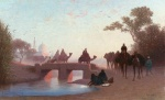 Charles Theodore Frere - paintings - Environs du Caire