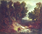 Thomas Gainsborough - paintings - The Watering Place