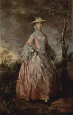 Thomas Gainsborough - paintings - Mary, Countess of Howe