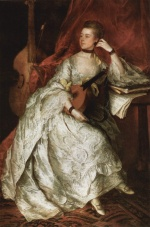 Thomas Gainsborough - paintings - Ann Ford (Mrs Philip Ticknesse)