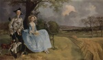 Thomas Gainsborough - paintings - Mr and Mrs Andrews