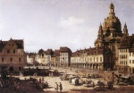 Bild:New Market Square in Dresden