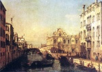Bernardo Bellotto - Bilder Gemälde - The Scuola of San Marco