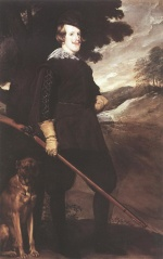 Diego Velazquez  - Bilder Gemälde - King Philip IV as a Huntsman
