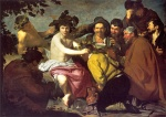 Diego Velazquez  - Bilder Gemälde - The Drunkards