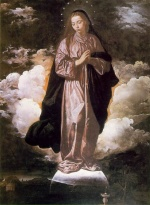 Diego Velazquez  - Bilder Gemälde - The Immaculate Conception