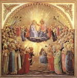 Fra Angelico  - Bilder Gemälde - The Coronation of the Virgin
