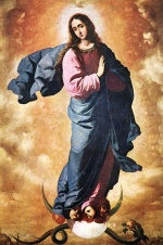 Francisco de Zurbaran - Bilder Gemälde - Immaculate Conception