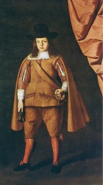 Francisco de Zurbaran - Bilder Gemälde - Portrait of the Duke of Medinaceli