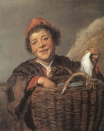 Frans Hals  - paintings - Fisher Boy