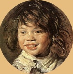 Frans Hals  - paintings - Laughing Child