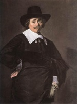 Frans Hals  - paintings - Portrait of a Standing Man