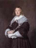 Frans Hals  - paintings - Portrait of a Standing Woman